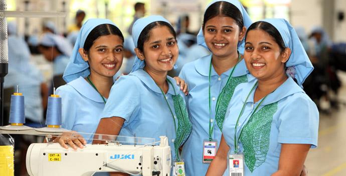 Apparel exporting in Sri Lanka