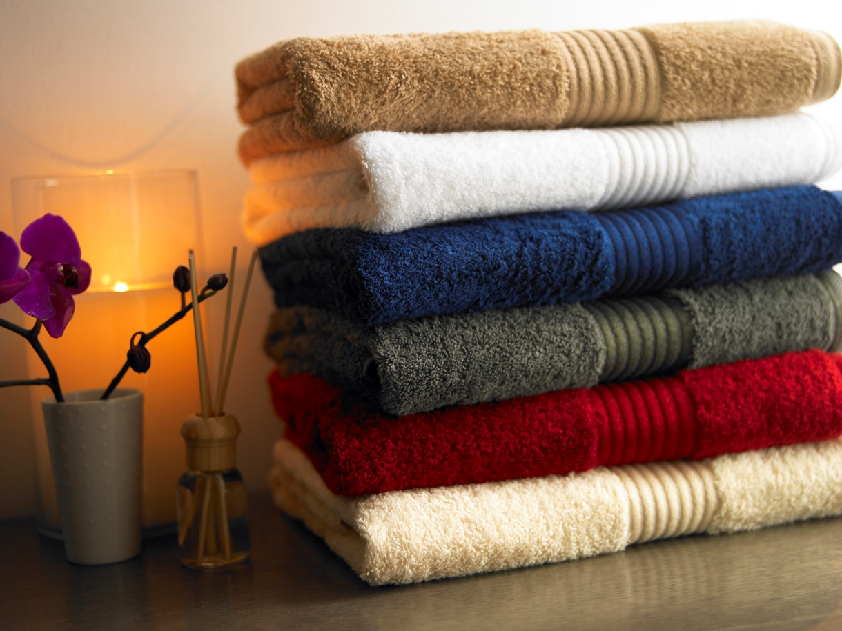 How bath towels are made
